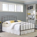 Fashion Bed Group Metal Beds Queen Fenton Metal Bed w/ Frame