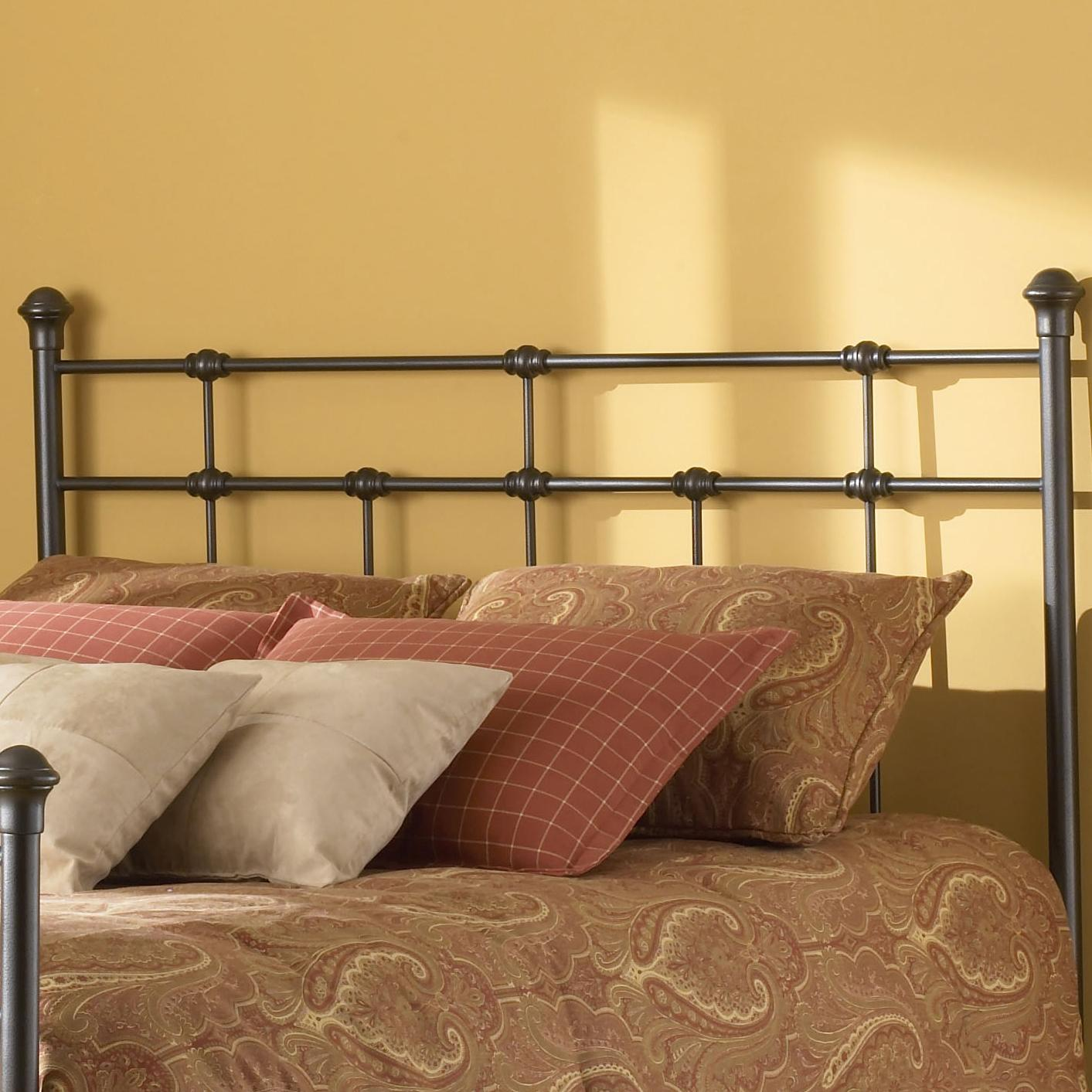 Fashion Bed Group Metal Beds Queen Dexter Headboard