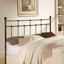 Fashion Bed Group Metal Beds Twin Dexter Headboard