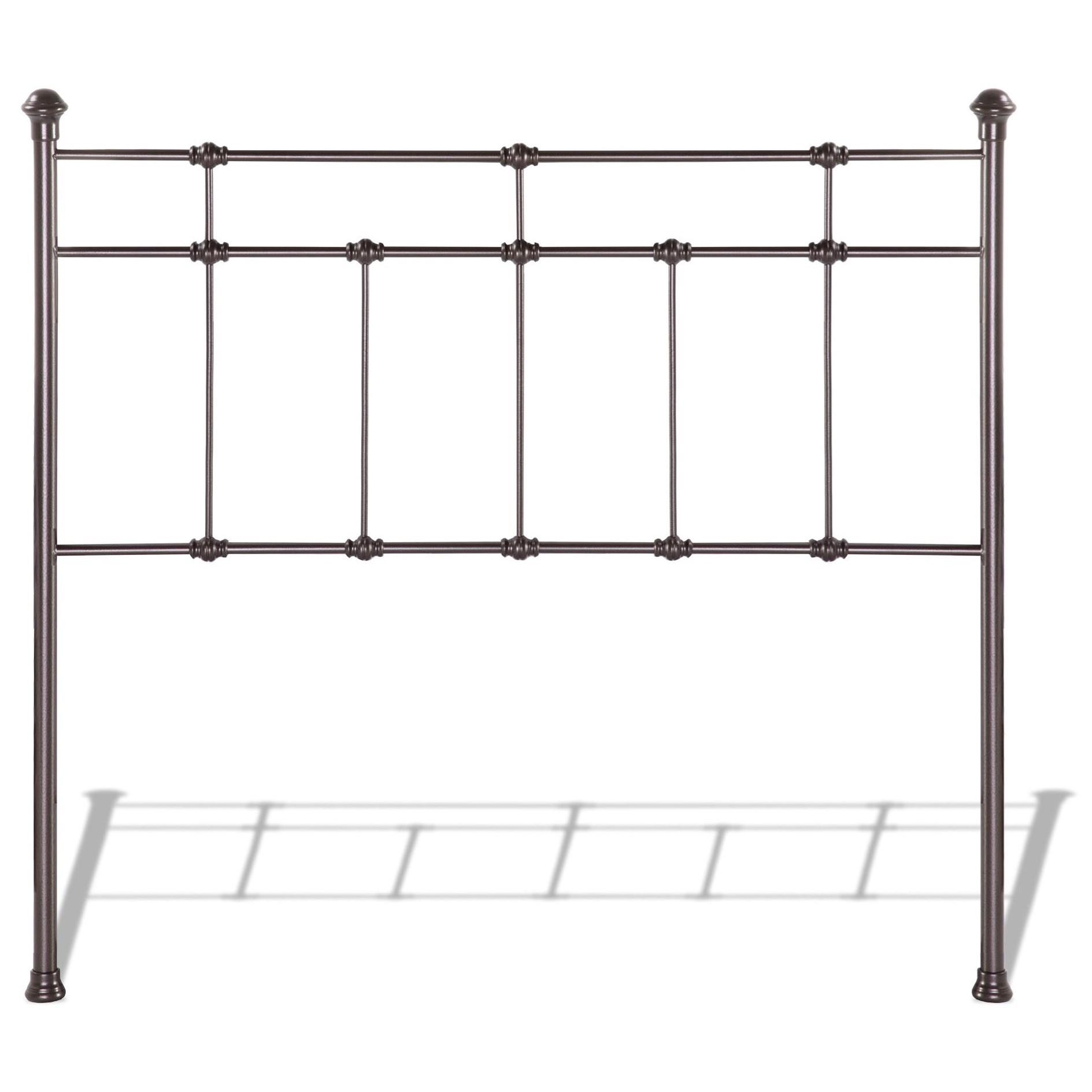 Fashion Bed Group Metal Beds Queen Dexter Headboard  - Item Number: B42145