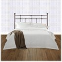 Morris Home Furnishings Metal Beds California King Transitional Dexter Metal Headboard