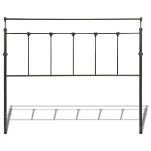 Fashion Bed Group Metal Beds Twin Winslow Headboard