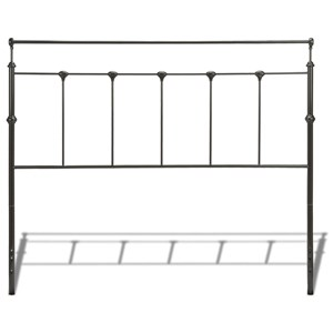 Morris Home Metal Beds Queen Winslow Headboard