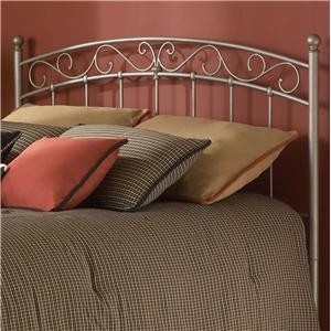 Morris Home Furnishings Metal Beds Queen Ellsworth Headboard