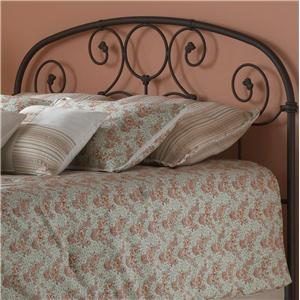 Fashion Bed Group Metal Beds Twin Grafton Headboard