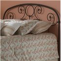 Morris Home Furnishings Metal Beds Twin Grafton Headboard - Headboard Shown May Not Represent Size Indicated