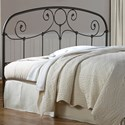 Fashion Bed Group Metal Beds Full Grafton Headboard