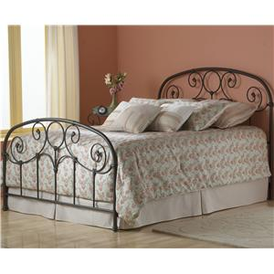 Fashion Bed Group Metal Beds Twin Grafton Metal Bed with Frame