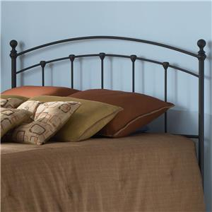Morris Home Furnishings Metal Beds Queen Sanford Headboard