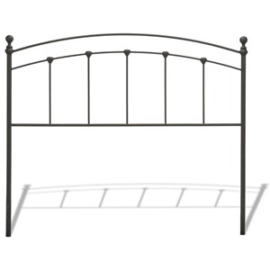 Morris Home Metal Beds Cal King Metal Headboard
