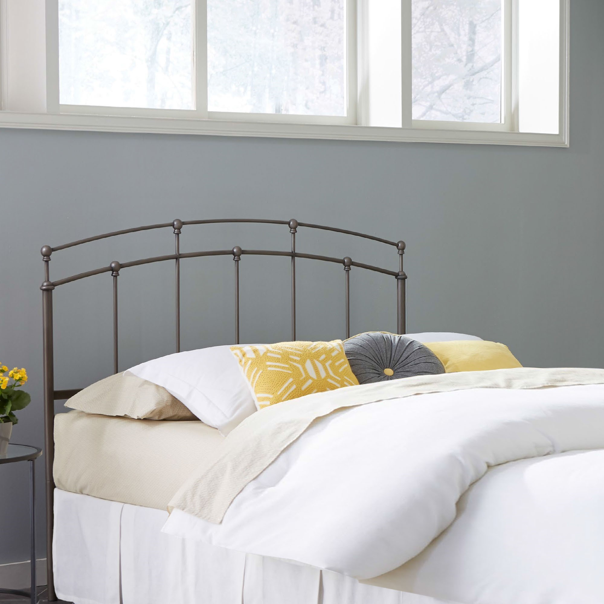 Becker Furniture Burnsville By Fashion Bed Group Metal Beds Queen Fenton  Duo Panel