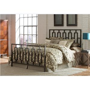 Morris Home Furnishings Metal Beds Queen Miami Bed