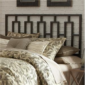 Morris Home Furnishings Metal Beds Queen Miami Duo Panel