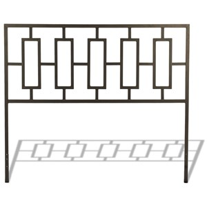 Fashion Bed Group Metal Beds Full Miami Headboard