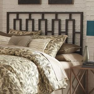 Morris Home Metal Beds Cal King Miami Headboard