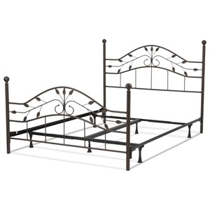 Fashion Bed Group Metal Beds Queen Sycamore Bed w/ Frame