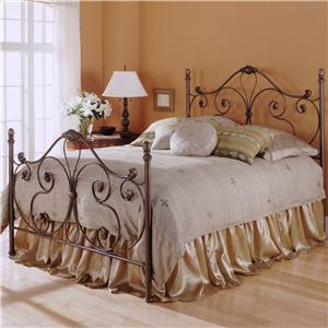 Fashion Bed Group Metal Beds Queen Aynsley Metal Bed