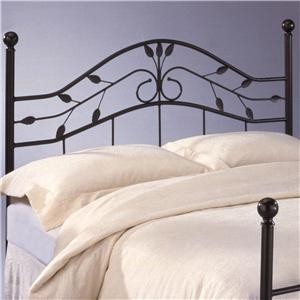 Morris Home Furnishings Metal Beds Queen Sycamore Duo Panel