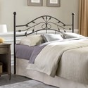 Fashion Bed Group Metal Beds Full Sycamore Headboard