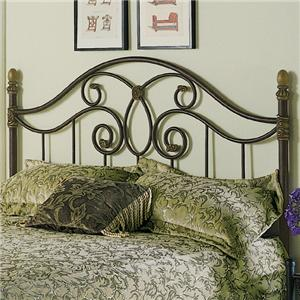 Fashion Bed Group Metal Beds Queen Dynasty Duo Panel