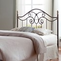 Fashion Bed Group Metal Beds King Dynasty Duo Panel Headboard