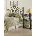Morris Home Furnishings Metal Beds California King Traditional Dynasty Metal Headboard