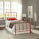 Fashion Bed Group Nolan Nolan Twin Kids Bed with Metal Duo Panels