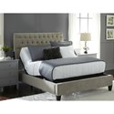 Fashion Bed Group Prodigy 2.0 Split California King Prodigy 2.0 Adjustable Bed Base with MicroHook Retention System