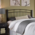 Fashion Bed Group Scottsdale Scottsdale Twin Headboard with Sloping Top Rails and Dark Espresso Wooden Posts