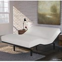 Fashion Bed Group Simplicity 3.0 Twin XL Simplicity 3.0 Low-Profile Adjustable Bed Base with Full Body Massage and Simultaneous Movement