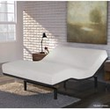 Fashion Bed Group Simplicity 3.0 Full XL Simplicity 3.0 Low-Profile Adjustable Bed Base with Full Body Massage and Simultaneous Movement