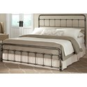 Morris Home Furnishings Snap Beds Full Metal Snap Bed with Weathered Nickel Finish - Bed Shown May Not Represent Size Indicated