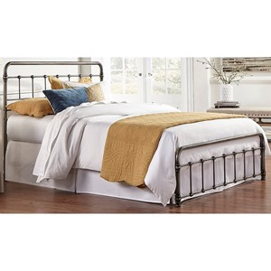 Morris Home Furnishings Snap Beds Cal King Metal Snap Bed
