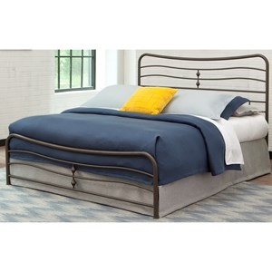 Fashion Bed Group Snap Beds Cal King Metal Snap Bed