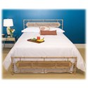 Morris Home Furnishings Snap Beds Coastal California King Metal Snap Bed with Desert Sand Finish