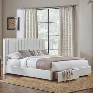 Queen Delaney Storage Bed