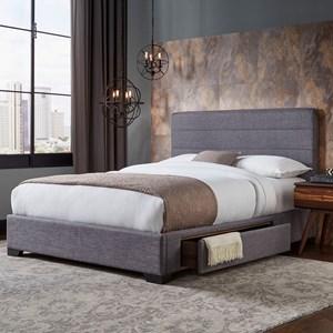 Queen Oliver Storage Bed