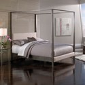 Fashion Bed Group Upholstered Headboards and Beds King Contemporary Avalon Canopy Bed