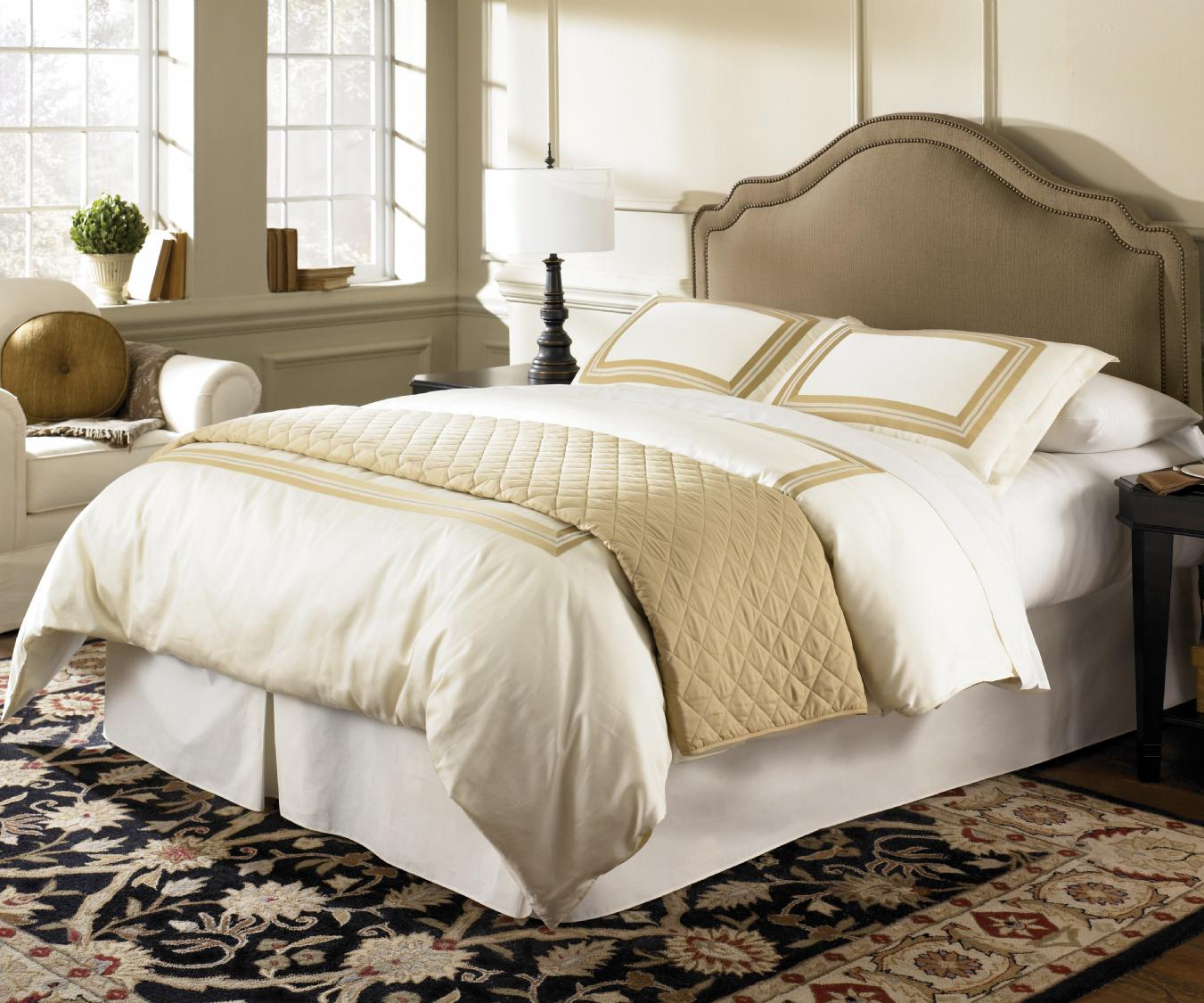 fashion bed group upholstered headboards and beds full queen versailles headboard baer 39 s. Black Bedroom Furniture Sets. Home Design Ideas