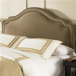 Morris Home Furnishings Upholstered Headboards and Beds Twin Versailles Headboard