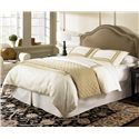 Fashion Bed Group Upholstered Headboards and Beds Twin Versailles Headboard  - Shown as Bed