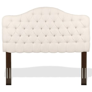 Morris Home Upholstered Headboards and Beds Twin Martinique Headboard