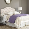 Fashion Bed Group Upholstered Headboards and Beds Twin Martinique Headboard w/ Button Tufting