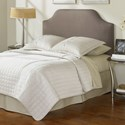 Fashion Bed Group Upholstered Headboards and Beds King/California King Bordeaux Upholstered Headboard