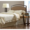 Morris Home Furnishings Upholstered Headboards and Beds Full Transitional Metal and Fabric Headboard