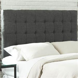 Morris Home Furnishings Upholstered Headboards and Beds Queen Strasbourg Upholstered Headboard