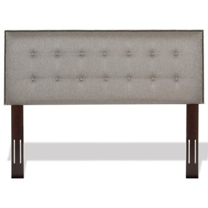Fashion Bed Group Upholstered Headboards and Beds Full / Queen Easley Headboard