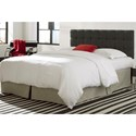 Morris Home Furnishings Upholstered Headboards and Beds King / Cal King Pendleton Wood and Fabric Headboard
