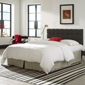 Morris Home Furnishings Upholstered Headboards and Beds Full / Queen Pendleton Wood and Fabric Headboard