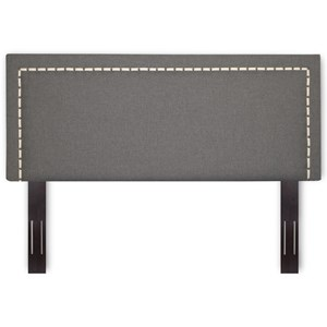 Morris Home Furnishings Upholstered Headboards and Beds Full / Queen Wood & Fabric Headboard